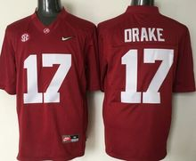 Stitiched,Alabama Crimson Tide,Joe Namath,Kenyan Drake,Reggie Ragland,Eddie Lacy,Blake Sims,Julio Jones,Nick Saban,Mark Ingram(China (Mainland))