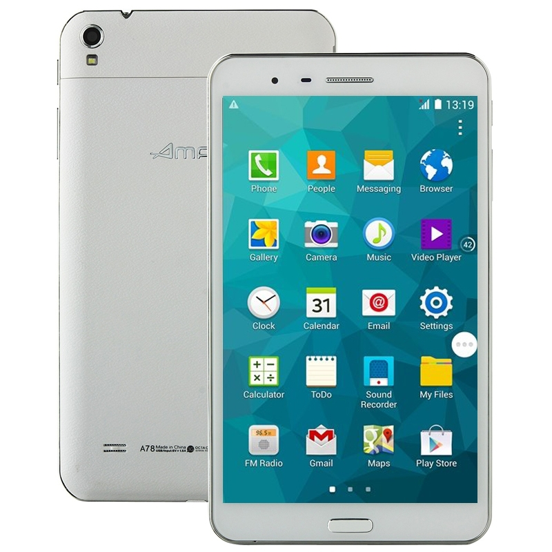 Original Ampe A78 MTK6592 Octa Core 1.7GHz 2GB + 16GB 7.0 inch FHD IPS Touch Screen Android 4.2.2 3G Phone Call Tablet PC(China (Mainland))