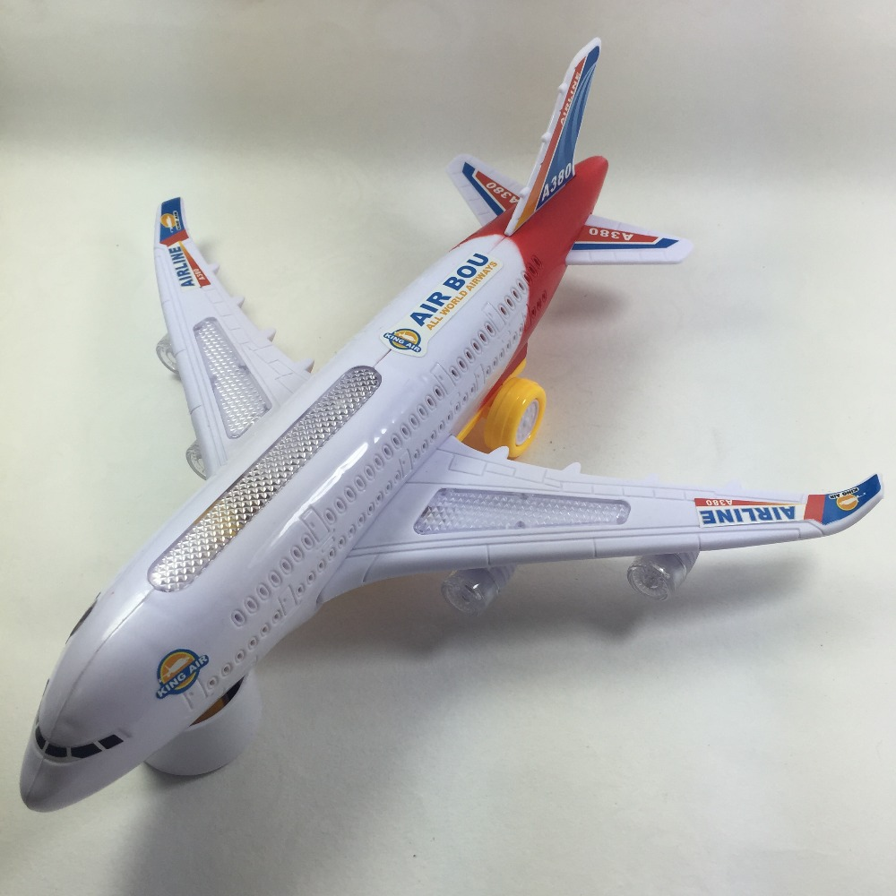 Child Boy Toy Airplane Model Cars Hot Wheels Airlines Flash Electric Aircraft Diecasts & Toys Vehicles W101(China (Mainland))