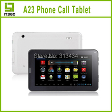 2014 NEW 7inch phone call tablet pc Dual Core Android 4.2 WIFI Bluetooth Dual Camera 512MB RAM 4GB ROM