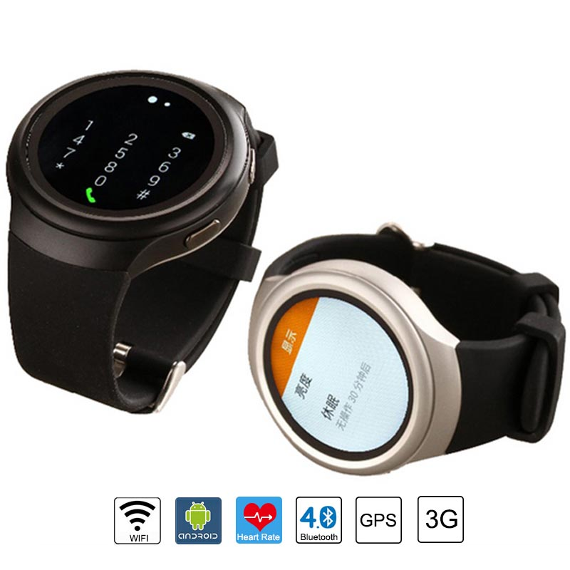 2016 Sport X3 Smart Watch Heart Rate IPS Screen bluetooth Pulsometer Fitness Tracker Android 4.4 Smartwatch 3G Mobile Phone(China (Mainland))