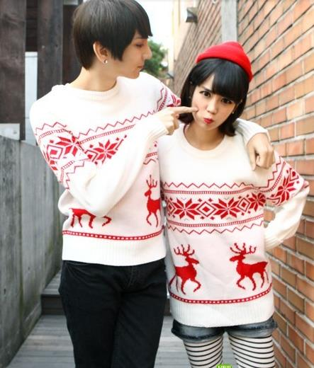 Winter onta 2014 casual sweater lovers autumn trend(China (Mainland))