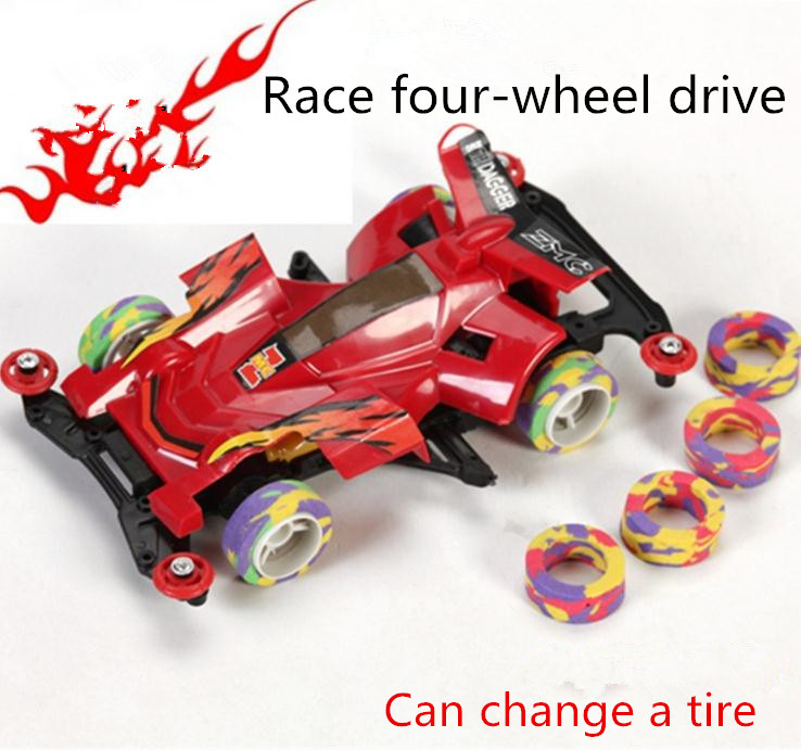 Hot sale ! Electric car high speed automobile race four-wheel drive electric toy model Racing toy, Free Shipping(China (Mainland))