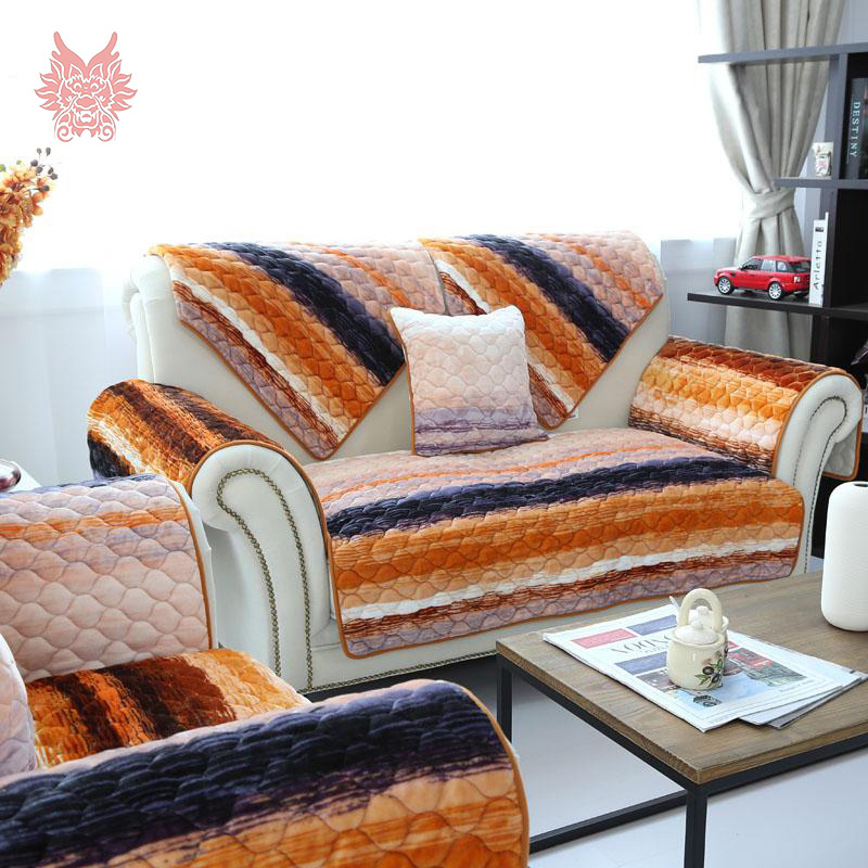 Popular Orange Sofa Cover Buy Cheap Orange Sofa Cover Lots From China Orange Sofa Cover