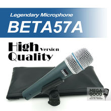 Free Shipping! Upgrade Version BETA57 Pro Super Cardioid Beta57A Wired Handheld Dynamic Microphone Microfono Beta 57A 57 A Mic