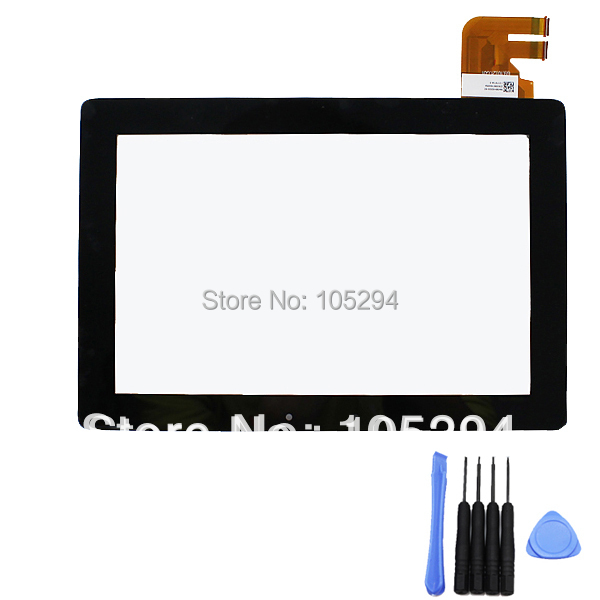 For ASUS Transformer Pad TF300T TF300 TF300/G01 Touch Screen Digitizer glass panel Lens Black Replacement and Tools