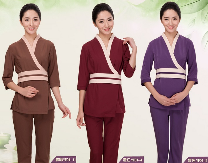 Hotel suits promotion shop for promotional hotel suits on for Spa uniform wholesale