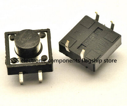 Free shipping 500PCS DIP 12X12X12 Tactile Tact Push Button Micro Switch Momentary 12*12*12MM good quality<br><br>Aliexpress