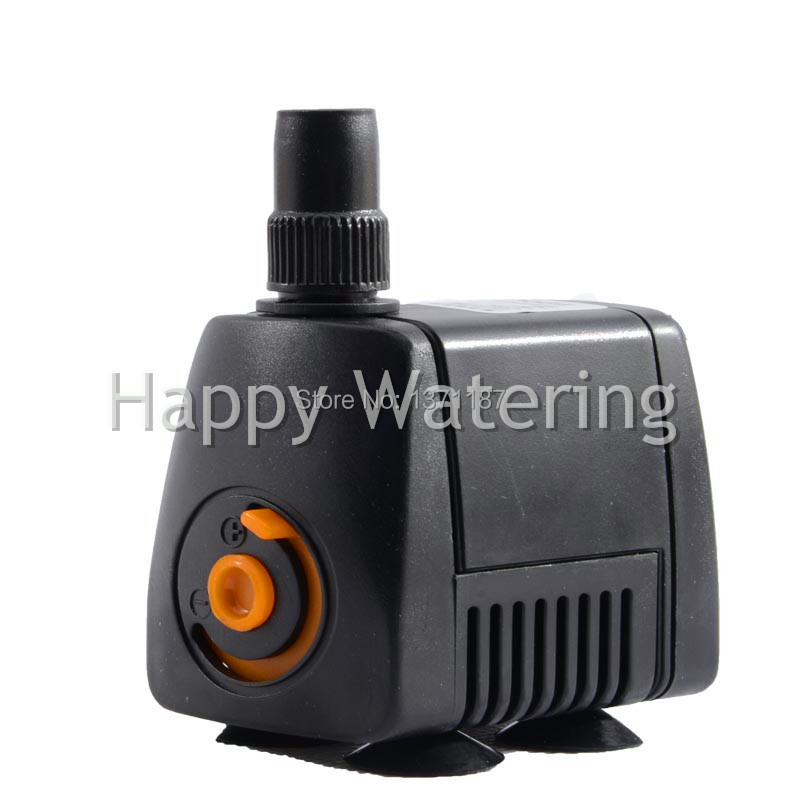 5w aquarium submersible small water pump 220v fish tank for Small water fountain pump