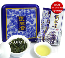 Funlife Tea-70g Iron Box Packing China Anxi Tieguanyin Oolong Tea Tie Guan Yin Luzhou-flavor Tikuanyin Tea Premium tie006