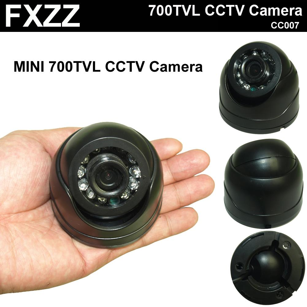 "New Arrival !!! 1/3"" CMOS Real MINI 700TVL High Resolution IR Indoor Dome Camera CCTV Camera IRC Free Shipping(China (Mainland))"