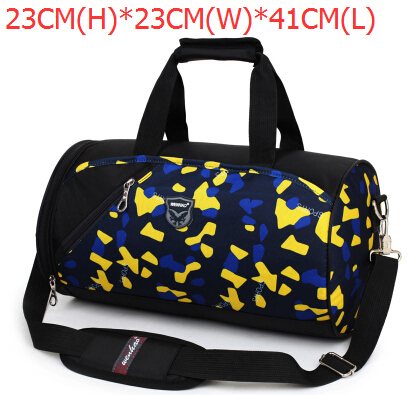 Sports gym independent cross-body bag female shoes cylincler training package male portable travel bag one shoulder yoga(China (Mainland))