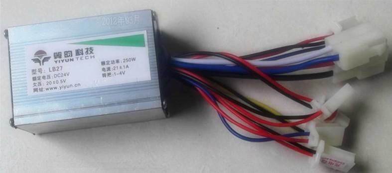 250W DC 24V brush motor speed controller, control, - Kai Yuan Electric CO., Limited store