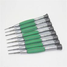 Venta al por mayor caliente 50 unids/lote múltiples mini precisión destornillador pentalobe chave de fenda herramientas del teléfono