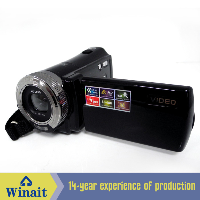 Free shipping Winait Digital disposable camera max 16mp and 16x digital zoom best buy best camera digital camcoder(China (Mainland))