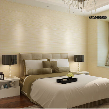 Hot sale modern simple frosted pure color wallpaper non for Bedroom wallpaper sale
