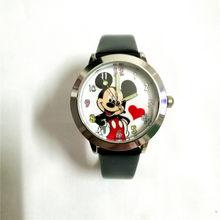ควอตซ์ causal เด็กนาฬิกาการ์ตูน 3D เด็กหญิง Minnie เมาส์สไตล์สี dial ของขวัญนักเรียนนาฬิกาข้อมือ(China)