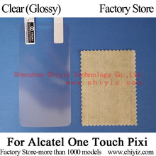 6x Clear Glossy LCD Screen Protector Guard Cover Film Shield For Alcatel One Touch Pixi Dual SIM 4007 4007A 4007X 4007D 4007E