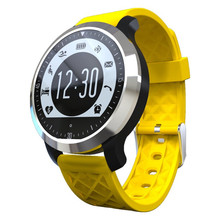 2016 Hot F69 Sprot Waterproof Smart Watch IP 68 Swimming Mode Heart Rate Monitor For Apple iphone Samsung Phone Bluetooth Clock