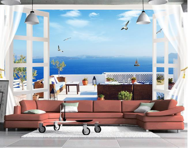 Oural large mural wallpaper background wallpaper 3d tv for Home 3d wallpaper wallcovering