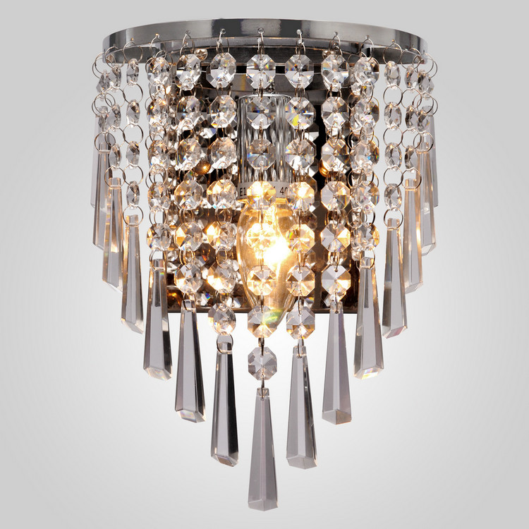 Luxury Crystal Wall Lights : Luxury Modern Crystal Wall Light Decoration Bedside Lamp In CE And FCC Quality Certificate 110 ...