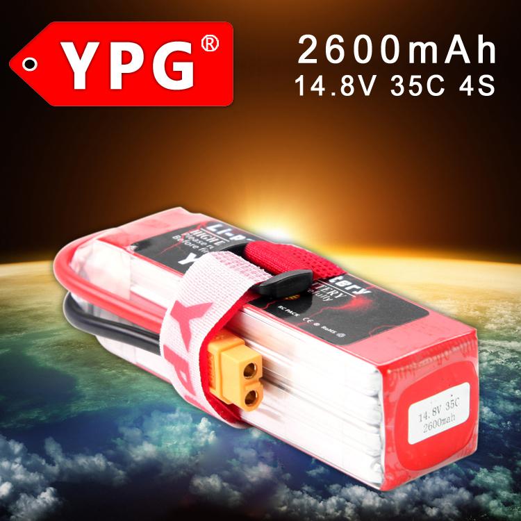 Freeshipping YPG 2600mAh 14.8V 35C 4S Lipo Li-Po Lipoly High performance Battery RC Hobby