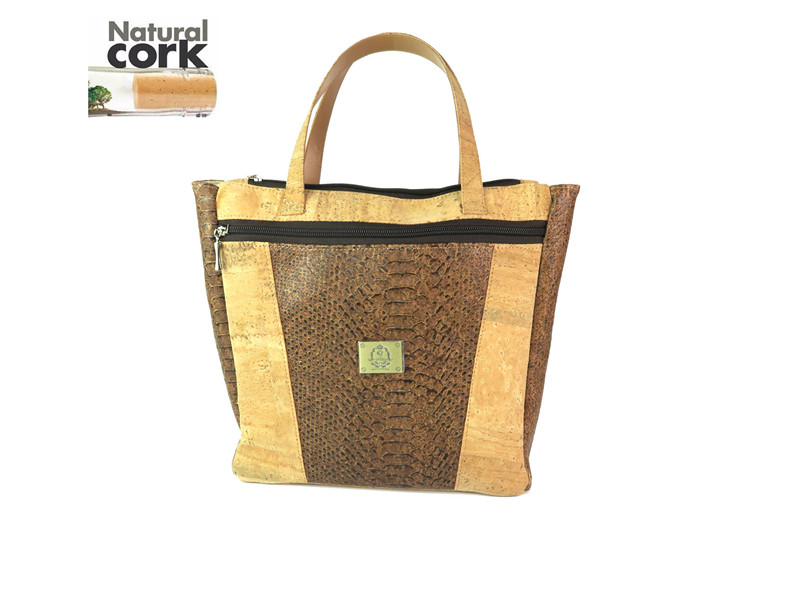 MB Cork, cork handbag, women bag dark red Leopard , casual tote waterproof , party officer use 2016 new fashion high quality(China (Mainland))