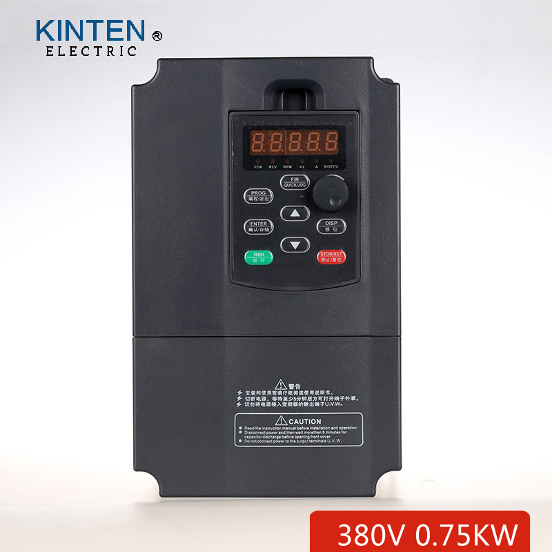AC 380v 0.75kw VFD / Inverter Variable Frequency Drive motor driver speed controller(China (Mainland))