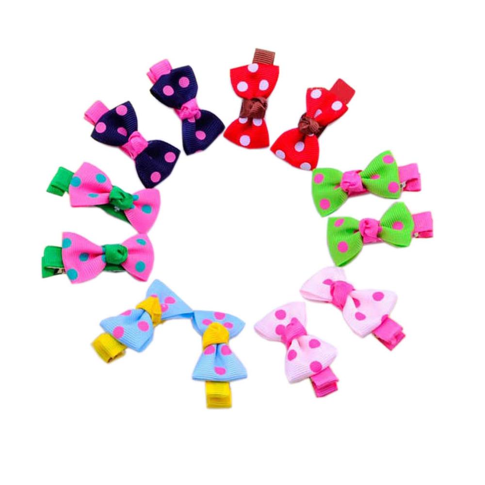 Kids Girls Headwear Baby Hair Clip Children Accessories Hair Bows Ribbon Flower Hair Clips Hairpins for Hair Barrettes 30pcs/Lot