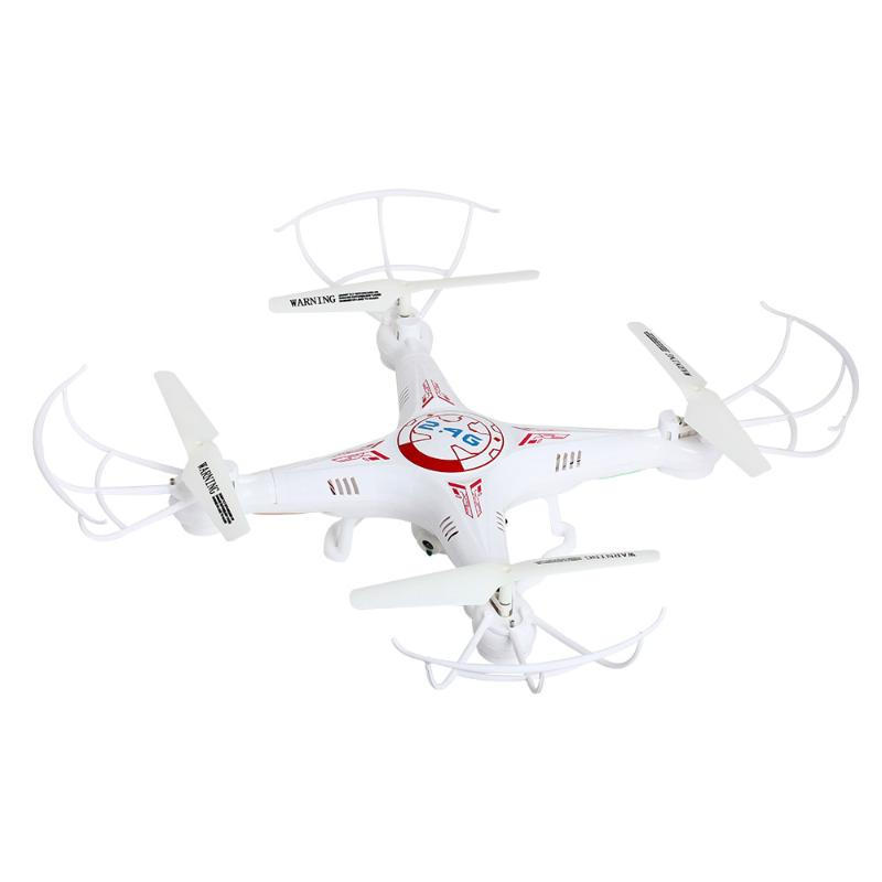 X5C-1 RC Quadcopter Drone w/ 2MP Camera 2.4GHz 4CH 6-Axis Gyro Helicopter White