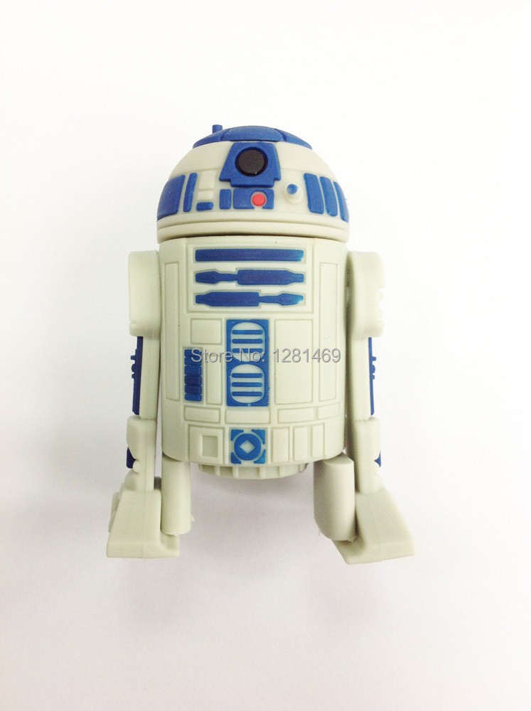 usb flash drive star wars r2 d2 pendrive cartoon robot pendrive usb flash drive 4gb 8gb 16gb pen. Black Bedroom Furniture Sets. Home Design Ideas