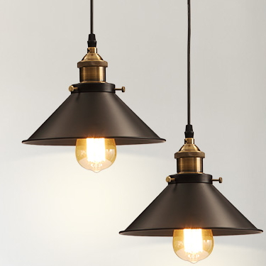 Wholesale Vintage Industrial Lighting Copper Lamp Holder Pendant Light American Aisle Lights Lamp Edison Bulb 110V-220V<br><br>Aliexpress