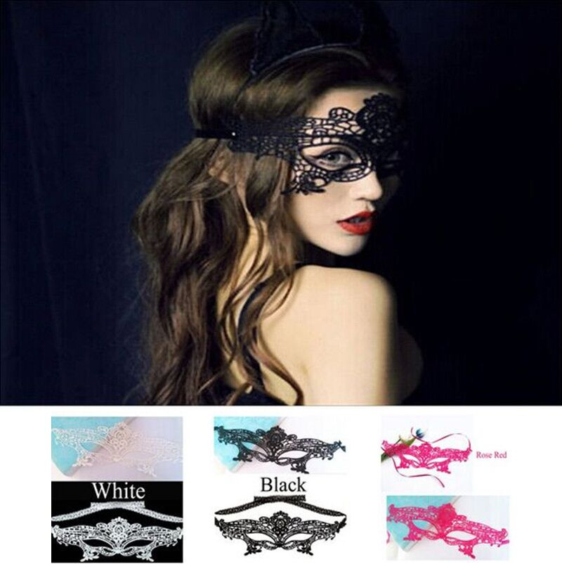 Гаджет  Sexy 4 Styles Lace Venetian Mask Masquerade Ball Halloween Party Fancy Dress New None Дом и Сад