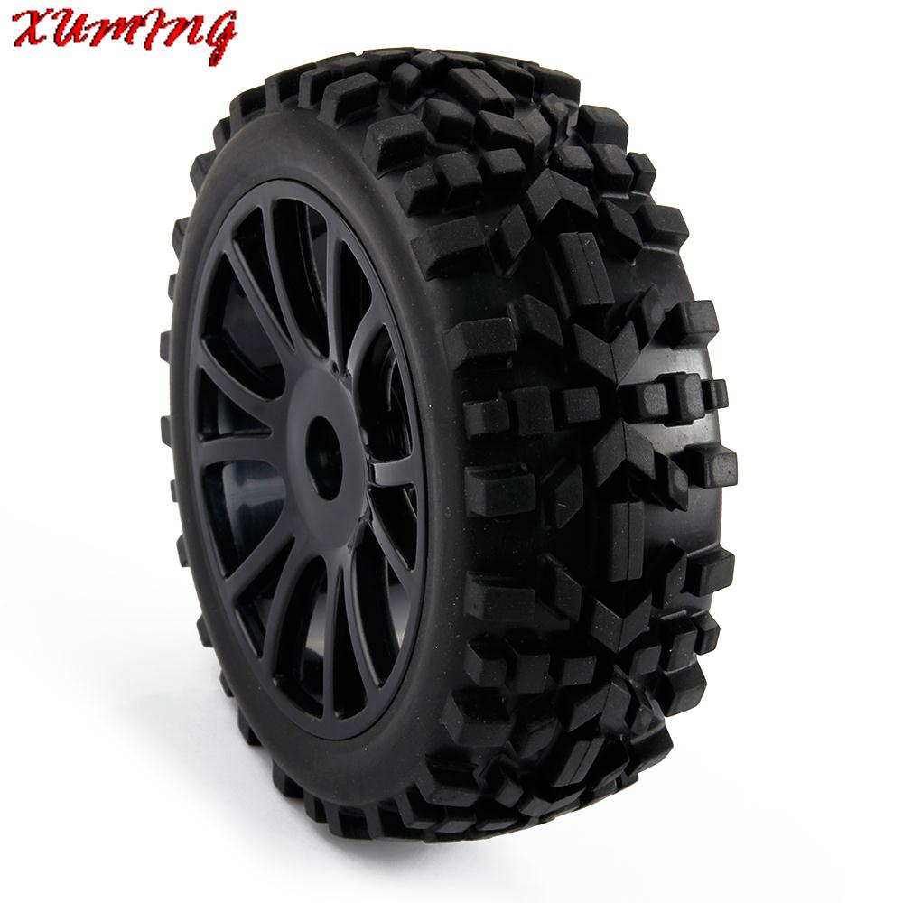 4pcs RC Model Off Road Car Buggy Tires Tyre and Wheel for 1/8 Off Road Car High Quality