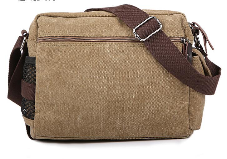 2015 New Men Messenger Bags Canvas Vintage Bag Men Shoulder Crossbody Bags for Man Bag Designer