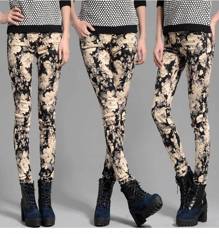 Maternity Autumn new Korean fashion printing stretch pencil pants pregnant belly care leggings for pregnant women<br><br>Aliexpress
