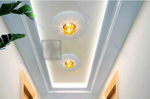 E74 Modern Crystal LED Light Hallway Aisle Pendant Fixture Chandelier Lamp Free Shipping<br><br>Aliexpress
