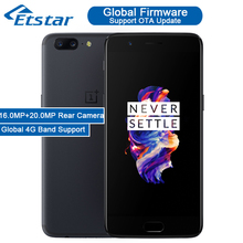 Stock Oneplus 5 Smartphone 5.5'' Snapdragon 835 Octa Core 6GB RAM 64GB ROM 16.0MP+20.0MP Rear Cameras Global 4G Android 7.0 - ETstar store
