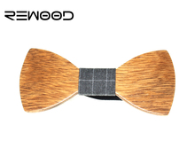 2016 New Fashion Personality Dot Bow Tie Wooden Butterfly Neck Tie For Men Jewelry Accessories butterfly