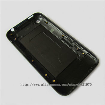 10Pcs/Lot  Back Cover for iPhone 3GS 8GB 16GB 32GB ; Black / White Best quality of 3gs housing cover Free Shipping