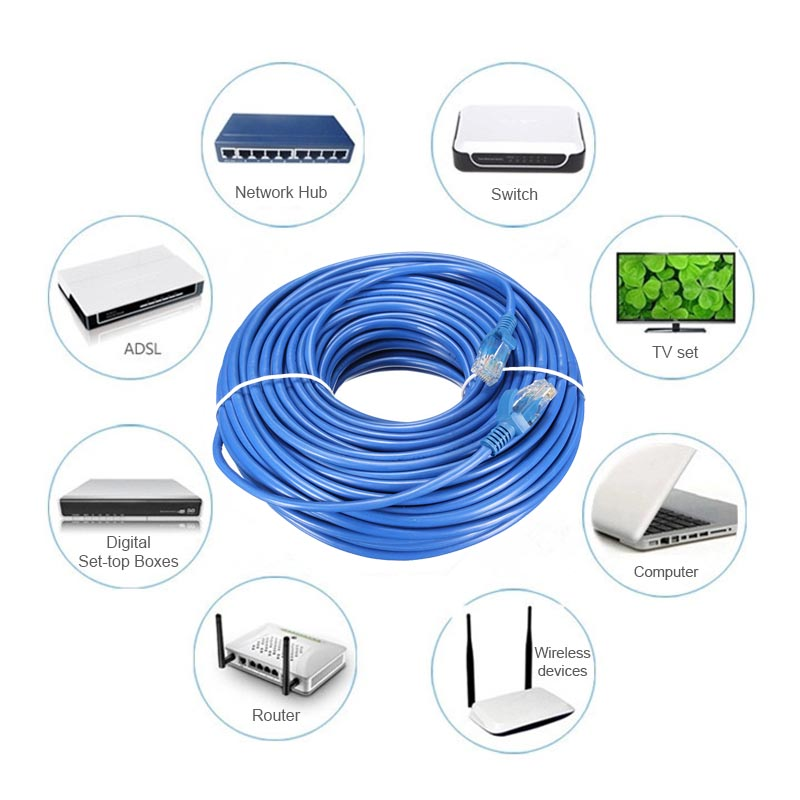 1M 2M 300CM 5M 10M 15M 20M 25M 30M Cat 5 65FT RJ45 Ethernet Cable For Cat5e Internet Network LAN CablePatch Connector Cord Tool(China (Mainland))