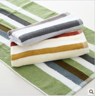 Wholesale 34*76cm Multi-Color 5pcs/lot 100% Cotton Soft Absorbent Towel /Face Cloths/Washer Towel/Hand Towel