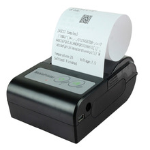 58HB-2 Portable Bluetooth Wireless Receipt Thermal Printer for Android (58mm Paper Width) – Black