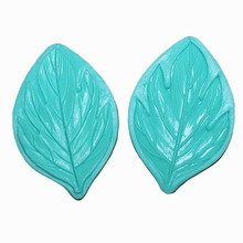 Large Peony Leaf Silicone Mold Fondant Cake Decorating Tools Bakeware DIY Kitchen Accessories S331