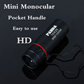 Mini Monocular professional Adjustable 10X25 NEW HD telescope Portable Tourism Scope Pocket spyglass camping hunting binoculars