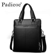 Casual Men's Leather Handbag Headband Cowhide Business Messenger Bag Shoulder Bag High Quality Messenger Bag Handbag Brand(China (Mainland))