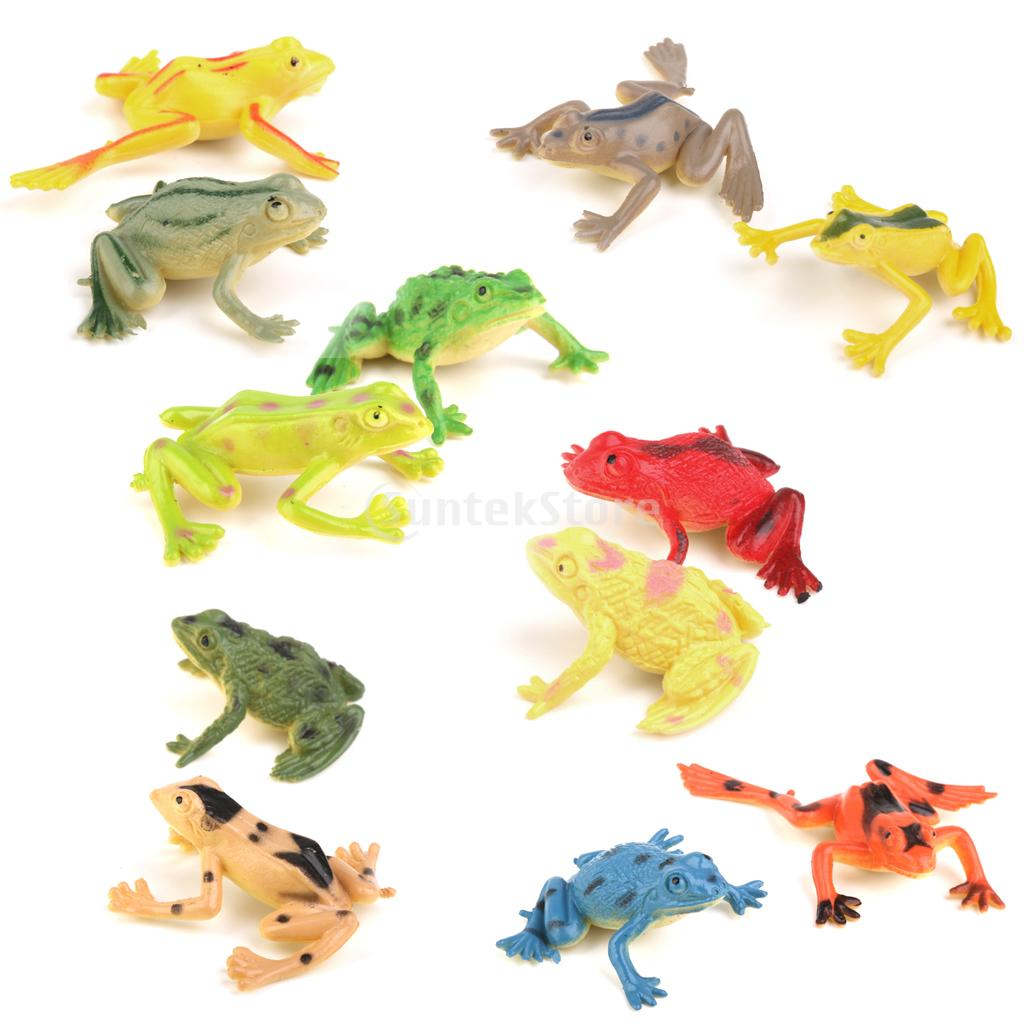 New Arrivals 2015 Plastic Small Frog Figures Simulation