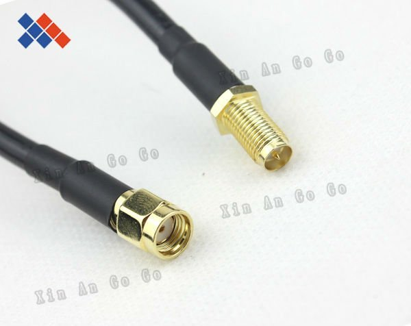 10M WIFI cable RP-SMA male to RP-SMA female Antenna connector RG58 cable,antenna extension cord wifi antenna cable Pigtail cable