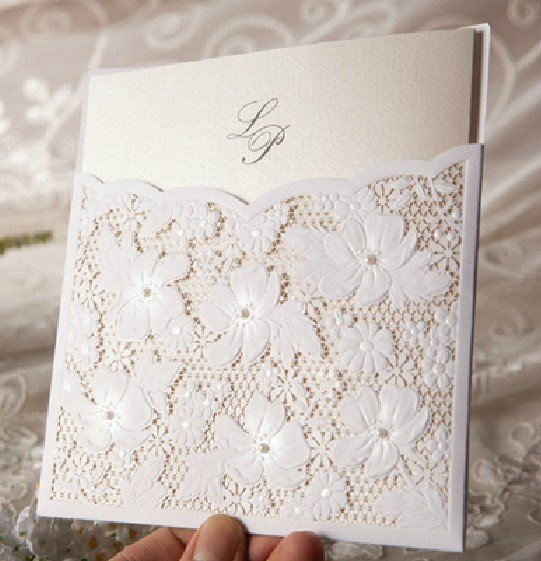 Embossed Wedding Invitation Cards Com Thank You Wedding Scroll – Embossed Invitation Cards