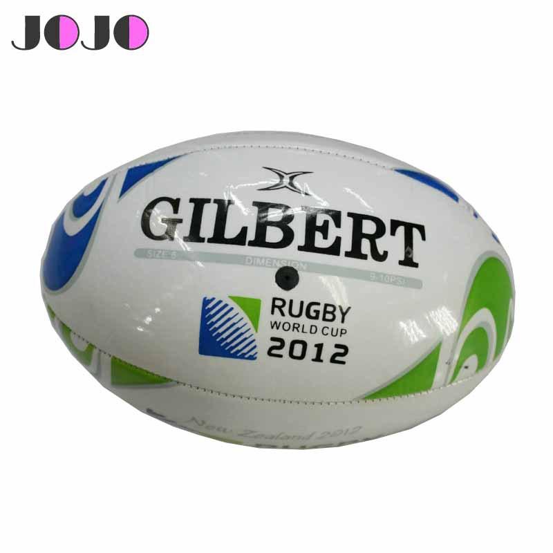 JOJO Standard PU English Classic Rugby Ball Size 5,Pro Ball For 2012 World League Match JR-004(China (Mainland))